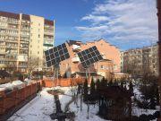 В Сумах построили солнечную электростанцию, от которой питается жилой дом
