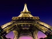 В Париже запретили автомобили с нечетными номерами