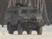 """Нацгвардия начала испытания бронеавтомобиля """"Дозор-2"""" (видео)"""