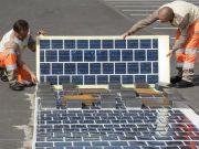 Во Франции построят 1000 км дорог с солнечными панелями