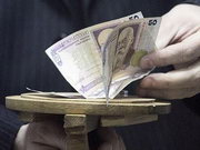 Деньги посадят на клей