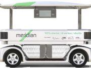Первые беспилотные такси в Лондоне будут похожи на маршрутки в Хитроу
