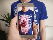 Создана необычная футболка, которая позволяет узнать больше о человеческой анатомии
