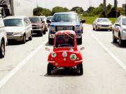 На аукционе Sotheby's продали самый маленький автомобиль в мире