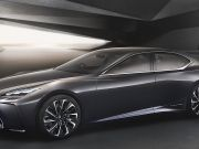 Lexus показав перші фото нового флагманського седана
