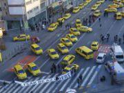 Венгерские таксисты требуют запрета Uber
