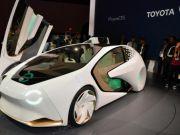 Toyota показала футуристичний концепт, схожий на міжгалактичну капсулу