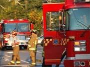 Создан самый огромный пожарный автомобиль в мире (видео)