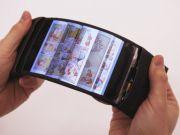 Разработан прототип гибкого смартфона, который позволяет управлять приложениями путем изгиба экрана (видео)