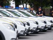 Полиция получила 77 новых внедорожных хэтчбеков на 31 млн грн