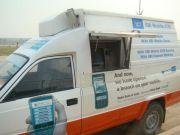 Автомобиль-банкомат будет обслуживать жителей Индии