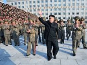 Ким Чен Ын испытал твердотопливный ракетный двигатель