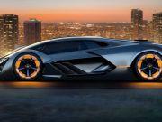 Lamborghini представила концепт электрокара на суперконденсаторах (фото)