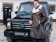 Единственный в мире: для Шварценеггера создали электрический Mercedes-Benz (видео)