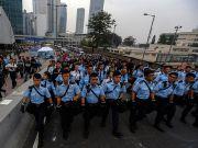У Гонконзі затримали понад 200 осіб під час зачистки табору демонстрантів