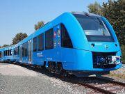 Поїзд на водневому паливі виконав перший рейс