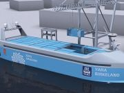 В Норвегии строят роботизированное электрическое судно-контейнеровоз