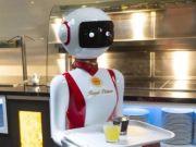 Роботы-официанты: в Нидерландах придумали, как уберечь клиентов ресторана от COVID-19 (фото)