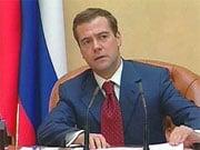 Медведев: Нельзя разорять крупнейших российских строителей