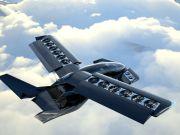 В Канаде представили концепт гибридного летающего автомобиля