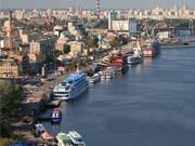 Украина и Беларусь хотят включить Днепр в международный транспортный коридор