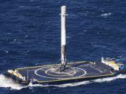 Первую ступень ракеты Falcon 9 приземлили уже третий раз