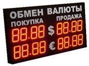 У Росії заборонили показувати на вулицях курс валют