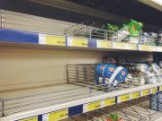 Голодна Росія: з полиць московських магазинів пропадають продукти (ФОТО)