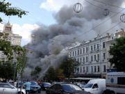 Сгоревший Центральный гастроном на Крещатике хотят превратить в отель