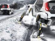 Hyundai представил электромашину, способную ездить, ходить и лазить (видео)