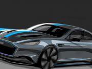 Aston Martin показал новый электромобиль