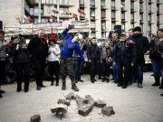 """Бойовики харківського """"Оплота"""" захопили Донецьку міськраду"""