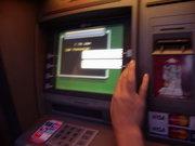 Клей на банкоматі