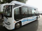 У Шеньчжені запустили безпілотні автобуси на громадських дорогах