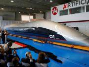 В Испании показали первую в мире пассажирскую капсулу Hyperloop (видео)