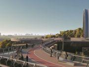 Кличко повідомив, коли відкриють пішохідний міст між Володимирською гіркою й Аркою дружби народів