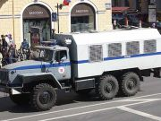 В Беларуси милицейские автозаки распродают за $8 тыс.