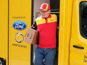 Ford представил электрический фургон для DHL