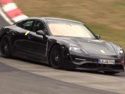 Porsche провела испытания нового электромобиля (видео)