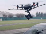 Sony показала первый дрон собственного производства (видео)