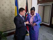 Україна має намір співпрацювати з Кенією