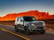 У Land Rover розповіли про тести нового Defender