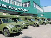 Завод президента поставить велику партію спецавтомобілів для армії