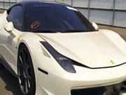 Ferrari 458 продают за очень скромную сумму (фото)