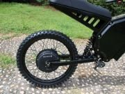 Ukrainian startup introduced an electric bike accelerating to 80 km / h (photo)