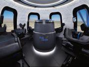 Blue Origin показало космическую пассажирскую капсулу