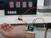 Корейські вчені перетворять тепло тіла на електрику для гаджетів