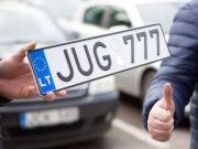 Розмитнення «єврономерів»: у яких країнах можна дистанційно зняти з обліку авто