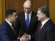 Порошенко, Яценюк і Гройсман запевнили послів країн G7, що будуть працювати спільно в реалізації реформ