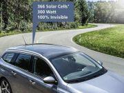 """У Німеччині створили """"невидимі"""" сонячні панелі для авто"""
